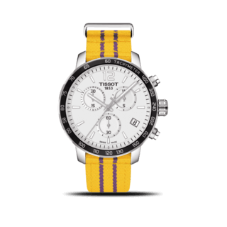Tissot Herrenuhr Quickster NBA Teams Los Angeles Lakers T095.417.17.037.05