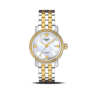 Tissot Damenuhr Bridgeport Automatic Lady T097.007.22.116.00