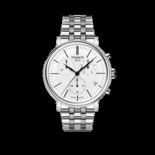 Tissot Herrenuhr Carson Premium Chronograph T122.417.11.011.00