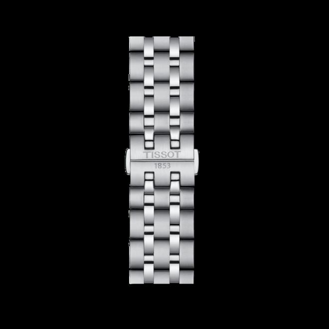Herrenuhr Tissot Classic Dream Swissmatic mit schwarzem Zifferblatt und Edelstahlarmband bei Brogle