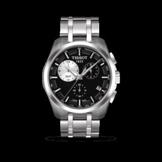 Tissot Herrenuhr Couturier Quartz GMT T035.439.11.051.00
