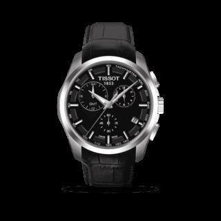 Tissot Herrenuhr Couturier Quartz GMT T035.439.16.051.00