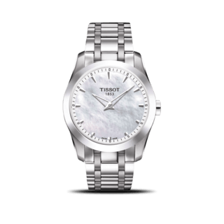 Tissot Damenuhr Couturier Secret Date Lady T035.246.11.111.00