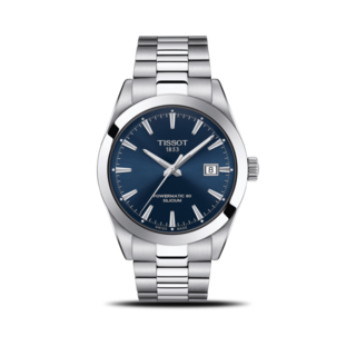 Tissot Herrenuhr Gentleman Automatic Powermatic 80 Silicium T127.407.11.041.00