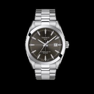 Tissot Herrenuhr Gentleman Automatic Powermatic 80 Silicium T127.407.11.061.01