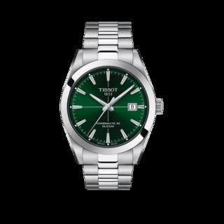 Tissot Herrenuhr Gentleman Automatic Powermatic 80 Silicium T127.407.11.091.01