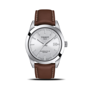 Tissot Herrenuhr Gentleman Automatic Powermatic 80 Silicium T127.407.16.031.00