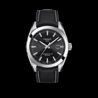 Tissot Herrenuhr Gentleman Automatic Powermatic 80 Silicium T127.407.16.051.00