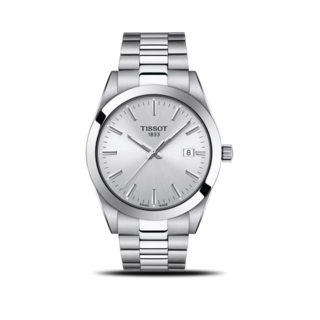 Tissot Herrenuhr Gentleman Quartz T127.410.11.031.00