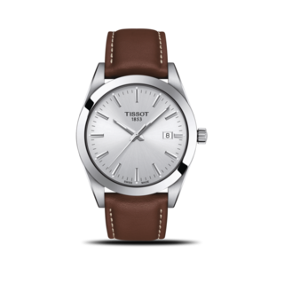 Tissot Herrenuhr Gentleman Quartz T127.410.16.031.00