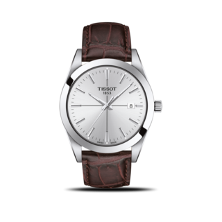Tissot Herrenuhr Gentleman Quartz T127.410.16.031.01