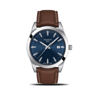 Tissot Herrenuhr Gentleman Quartz T127.410.16.041.00