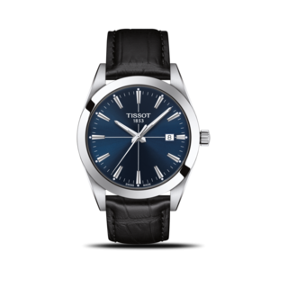 Tissot Herrenuhr Gentleman Quartz T127.410.16.041.01