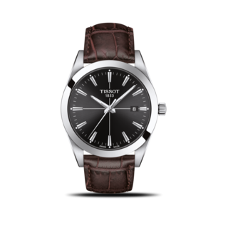 Tissot Herrenuhr Gentleman Quartz T127.410.16.051.01