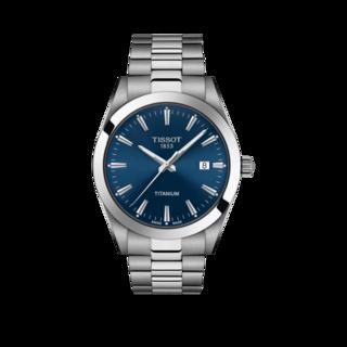 Tissot Herrenuhr Gentleman Titanium Quarz T127.410.44.041.00