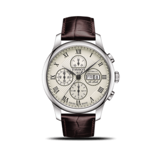 Tissot Herrenuhr Le Locle Automatic Chronograph T006.414.16.263.00