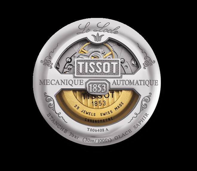 Herrenuhr Tissot Le Locle Automatic Gent COSC mit silberfarbenem Zifferblatt und Edelstahlarmband bei Brogle