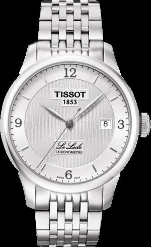 Herrenuhr Tissot Le Locle Automatic Gent COSC mit silberfarbenem Zifferblatt und Edelstahlarmband
