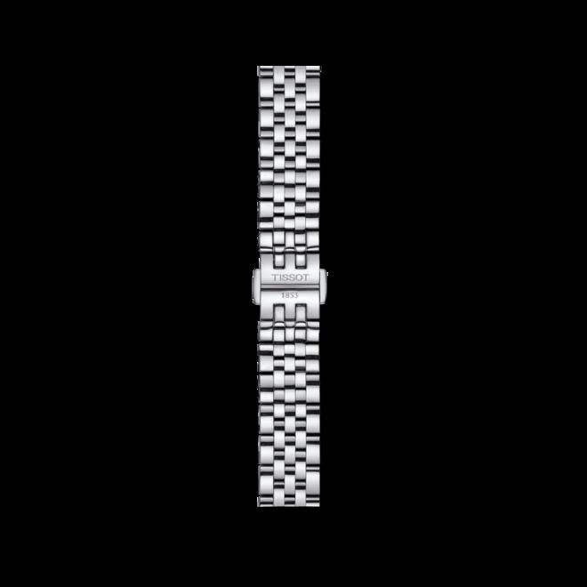Damenuhr Tissot Le Locle Automatic Lady mit Diamanten, silberfarbenem Zifferblatt und Edelstahlarmband bei Brogle