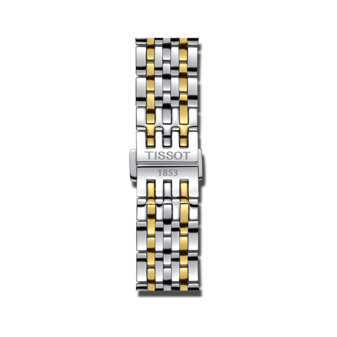 Herrenuhr Tissot Le Locle Automatic Petite Seconde mit silberfarbenem Zifferblatt und Edelstahlarmband bei Brogle