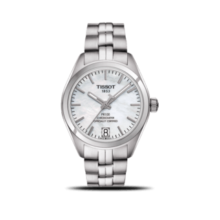 Tissot Damenuhr PR 100 Powermatic Lady COSC T101.208.11.111.00