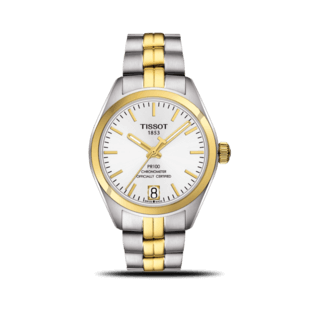 Tissot Damenuhr PR 100 Powermatic Lady COSC T101.208.22.031.00