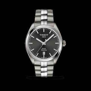Tissot Herrenuhr PR 100 Quartz Gent Titanium T101.410.44.061.00
