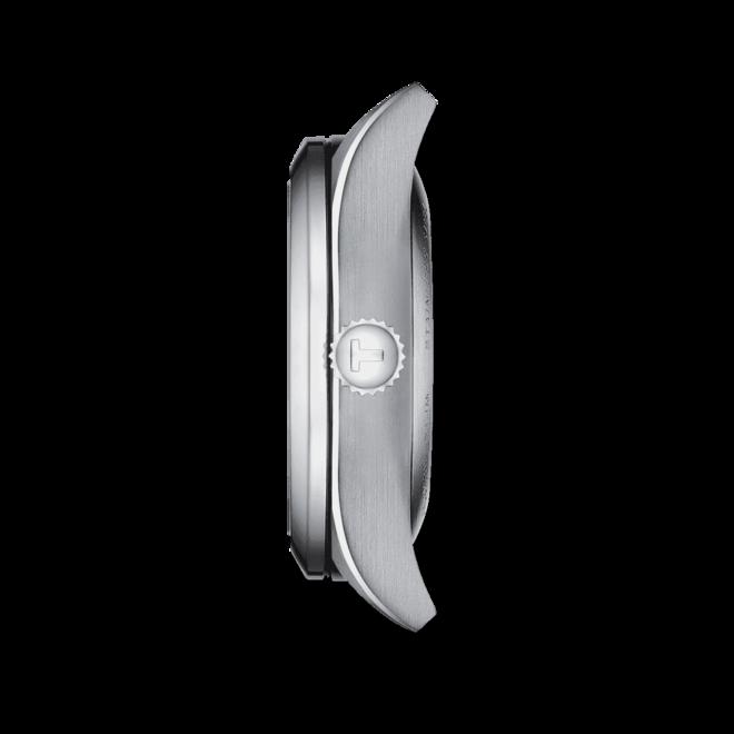 Damenuhr Tissot T-My Lady Quarz 29mm mit schwarzem Zifferblatt und Edelstahlarmband bei Brogle