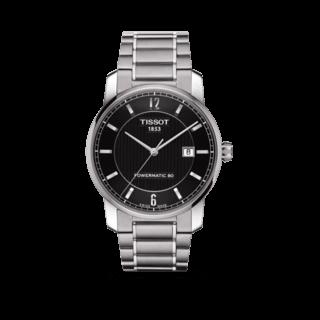 Tissot Herrenuhr Titanium Automatic Gent T087.407.44.057.00