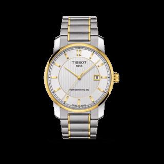 Tissot Herrenuhr T-Classic Titanium Automatic Gent T087.407.55.037.00