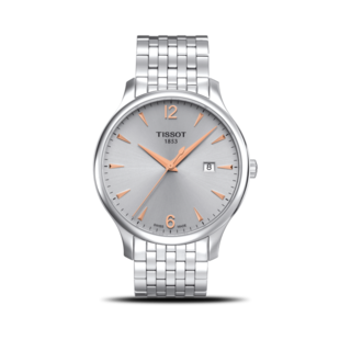Tissot Herrenuhr Tradition Gent T063.610.11.037.01