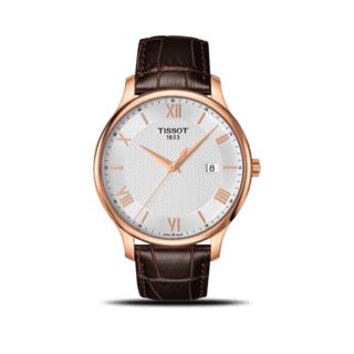 Tissot Herrenuhr Tradition Gent T063.610.36.038.00
