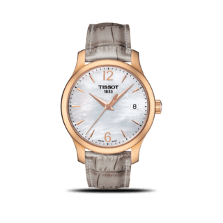 Tissot Damenuhr Tradition T063.210.37.117.00