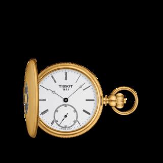 Tissot Taschenuhr Savonnette Mechanical T867.405.39.013.00