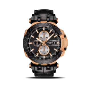 Tissot Herrenuhr T-Sport Automatik Chronograph 45mm T115.427.37.051.00