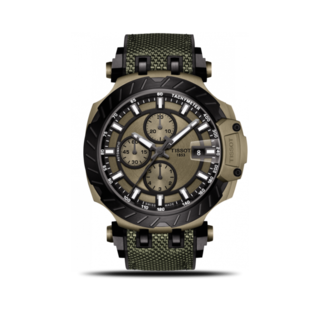Tissot Herrenuhr T-Sport Automatik Chronograph 45mm T115.427.37.091.00