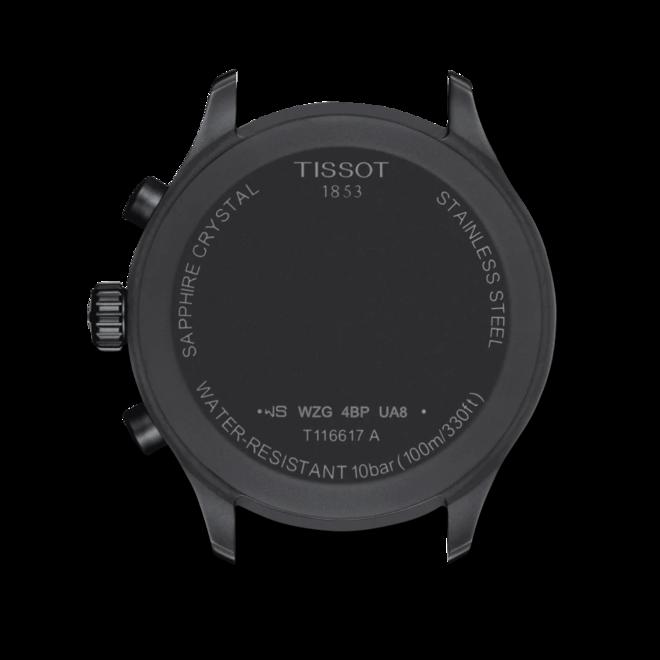 Herrenuhr Tissot Chrono XL mit schwarzem Zifferblatt und Textilarmband bei Brogle