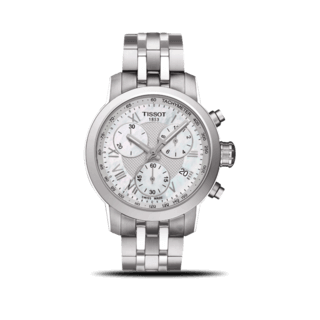 Tissot Damenuhr PRC 200 Quartz Chronograph Lady T055.217.11.113.00