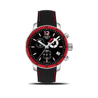 Tissot Herrenuhr Quickster Chrono Football T095.449.17.057.01