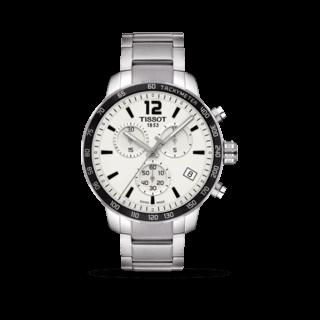 Tissot Herrenuhr Quickster Chronograph T095.417.11.037.00