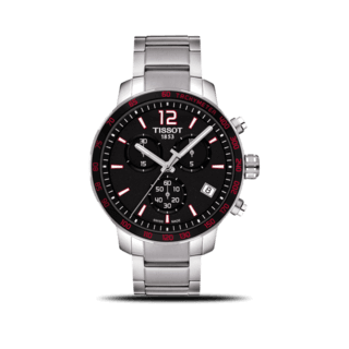 Tissot Herrenuhr Quickster Chronograph T095.417.11.057.00