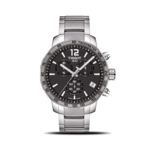 Tissot Herrenuhr Quickster Chronograph T095.417.11.067.00