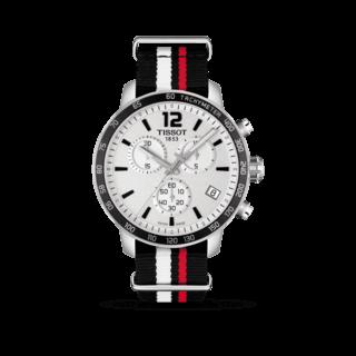 Tissot Herrenuhr Quickster Chronograph T095.417.17.037.01