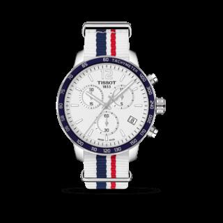 Tissot Herrenuhr Quickster Chronograph T095.417.17.037.09