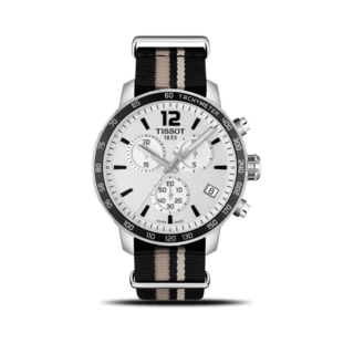 Tissot Herrenuhr Quickster Chronograph T095.417.17.037.10