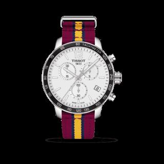 Tissot Herrenuhr Quickster Chronograph T095.417.17.037.13