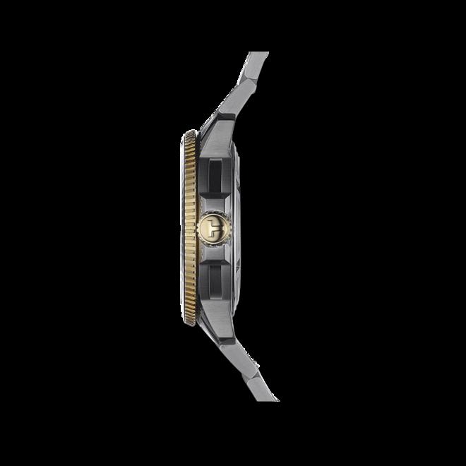 Herrenuhr Tissot Seastar 1000 Automatic mit schwarzem Zifferblatt und Edelstahlarmband bei Brogle