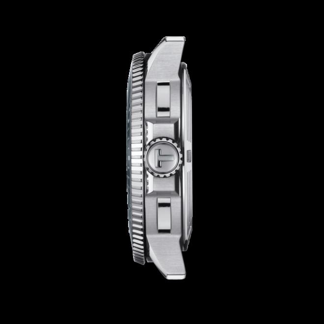 Herrenuhr Tissot Seastar 1000 Powermatic 80 mit grauem Zifferblatt und Edelstahlarmband bei Brogle
