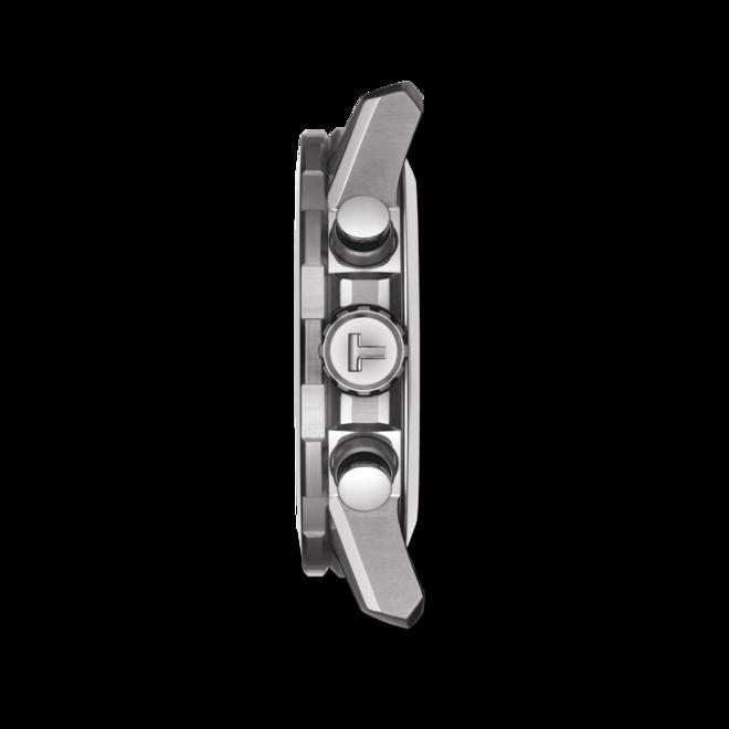 Herrenuhr Tissot Supersport Chrono mit schwarzem Zifferblatt und Rindsleder-Armband bei Brogle