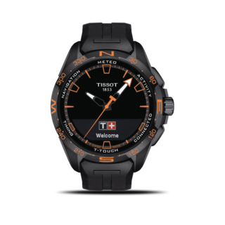 Tissot Herrenuhr Connect Solar T121.420.47.051.04